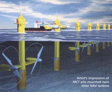 offshore marine turbines